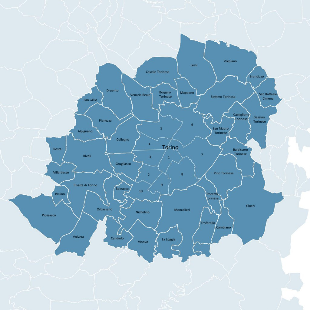 area metropolitana